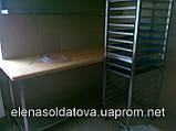 Мебель из нержавейки для столовых, фото 3