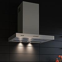 Кухонная вытяжка Eleyus Quarta 750 LED SMD 60 M IS нержавеющая сталь