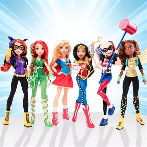 Куклы DC Comics Super Hero Girls