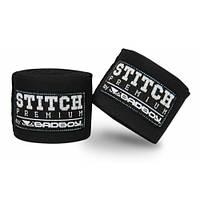 Боксерские бинты для защиты рук 5 м Bad boy черный