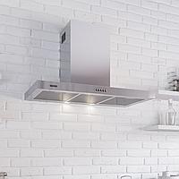 Кухонная вытяжка Eleyus Quarta 750 LED SMD 90 M IS нержавеющая сталь