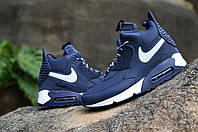 Кроссовки Nike Air Max 90 SneakerBoot Blue/White