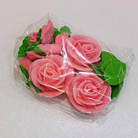 """Сахарное украшение """"Розы с бутонами"""""""