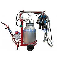 Доильный аппарат Березка-2 нержавейка для коров