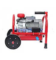 Агрегат вакуумный роторный АВР-220 1500 на 1500 об/мин  в сборе на каркасе