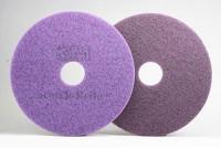 """Абразивный круг (Пад) 17"""" 432 мм, фиолетовый. Премиум"""