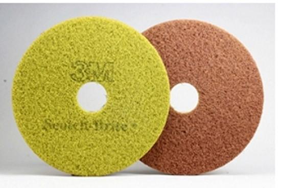 """Абразивный круг (Пад) 17"""" 432 мм, коричнево-зеленый, Sienna. Премиум"""