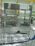 Охлождающий прилавок с надстройкой для напитков, фото 2