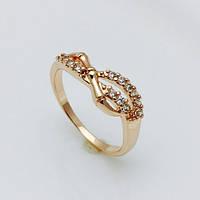 Кольцо в виде восьмерки, размер 18