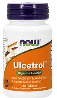 Формула от гастрита, Now Foods, Ulcetrol, 60 tabs