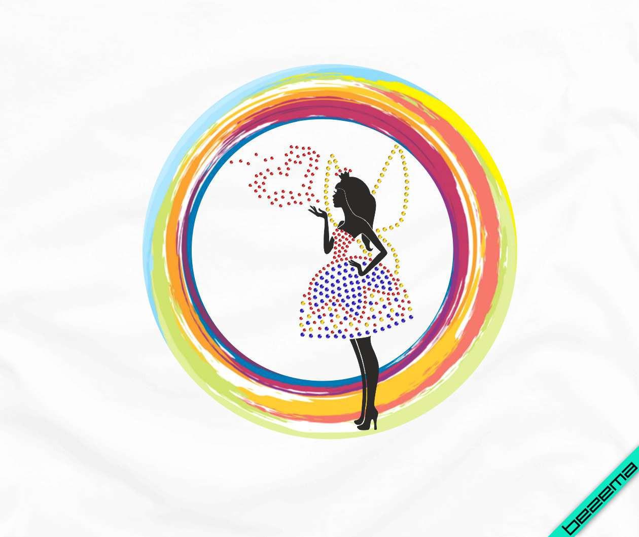 Термопереводки, латки на рубашки Принцесса Фея