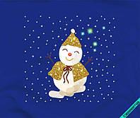 Термонаклейки на плавки Снеговик
