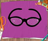 Переводки для бизнеса на челочно-носочные изделия термо Очки