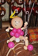 Малышка из шаров