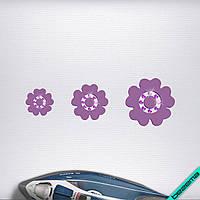 Термопереводки на свитеры Цветы