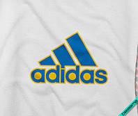 Наклейка на ткань логотип Adidas 3D [7 размеров в ассортименте]