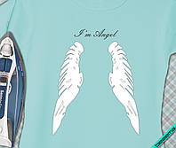 Термоперевод для бизнеса на кофты Крылья I'm Angel [7 размеров в ассортименте]