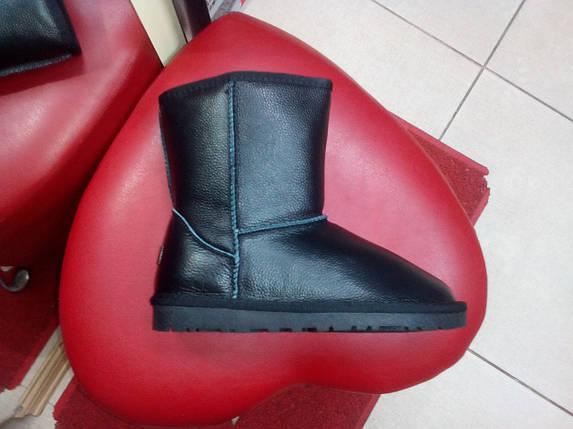 Зимние кожаные угги  PRIMA DA 5825 чёрные , фото 2
