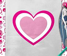 Дизайн для бизнеса на бриджи Сердце [7 размеров в ассортименте]