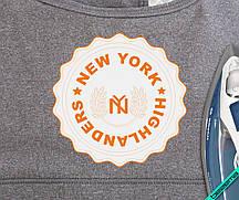 Термопереводки, латки на шапки New York Highlanders [7 размеров в ассортименте]