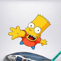 Аппликация, наклейка на ткань Барт [7 размеров в ассортименте]
