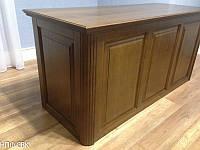 Стол письменный для кабинета из дерева на заказ