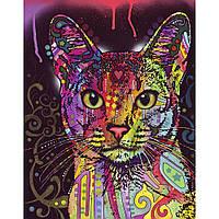 Наклейка на ткань Tiger Cat [7 размеров в ассортименте]