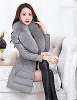 Женский стильный зимний пуховик. Модель 993, фото 1
