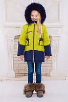 Куртка зимняя для девочек подростков