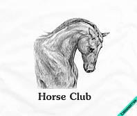 Наклейка на ткань Лошадь [7 размеров в ассортименте]