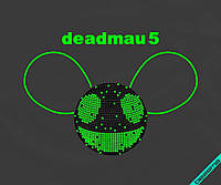 Дизайн для бизнеса на леггинсы DEADMAU5 [7 размеров в ассортименте]