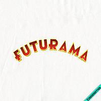 Наклейки для бизнеса на обувь Futurama [7 размеров в ассортименте]