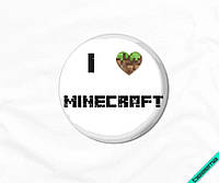 Термопереводки на текстильные изделия Minecraft [7 размеров в ассортименте]