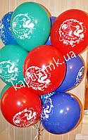 Облако из 12 шаров для встречи с роддома мальчика
