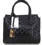 Стильная женская сумка. Эко-кожа Италия  Серая, фото 6