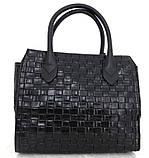 Стильная женская сумка. Эко-кожа Италия  Серая, фото 7