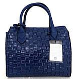 Стильная женская сумка. Эко-кожа Италия  Серая, фото 8