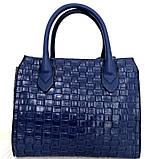 Стильная женская сумка. Эко-кожа Италия  Серая, фото 9