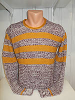 Свитер зимний ROT полосы 001/ купить оптом свитер зимний