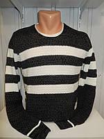 Свитер зимний ROT полосы 006/ купить оптом свитер зимний