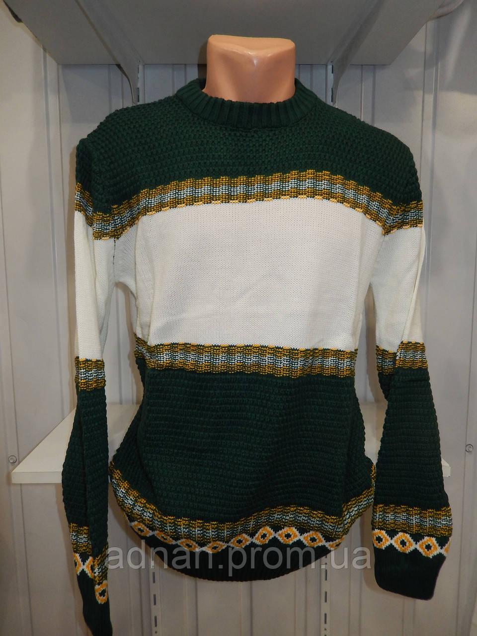 Свитер зимний ROT орнамент 005/ купить оптом свитер зимний