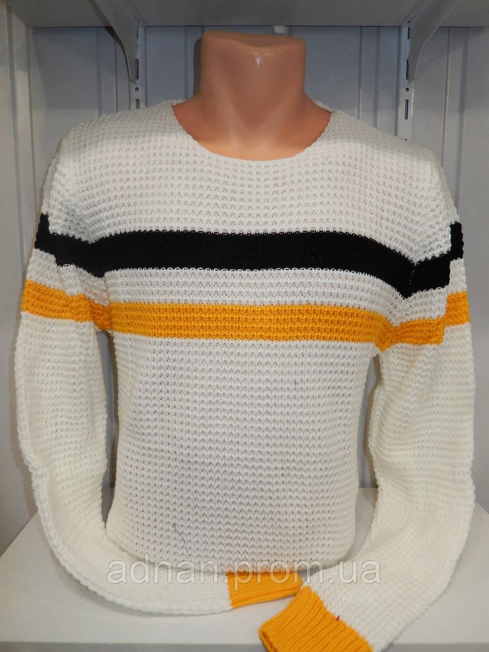 Свитер зимний ROT полосы 007/ купить оптом свитер зимний