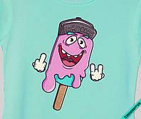 Термопереводки для бизнеса на блузы Мороженое Hardcore [7 размеров в ассортименте]