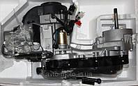 "Двигатель скутер 4t GY6-80см3 диск 12"" один амортизатор"
