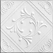 Плитка потолочная Ромстар белая № 43 (остаток 7 кв. м)