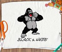 Термопереводки на хлопок горилла [7 размеров в ассортименте]