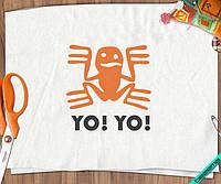 Наклейка на ткань YO!YO! [7 размеров в ассортименте]