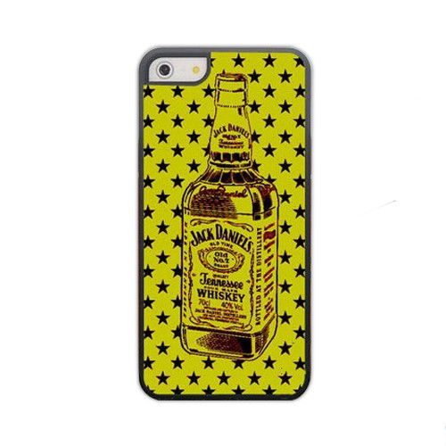 Чехол для iPhone 5/5S Jack Daniel's - желтый