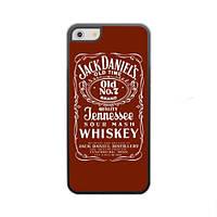 Чехол для iPhone 5/5S Jack Daniel's - красный