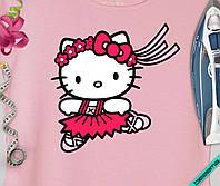 Термопереводки, латки на одежду для беременных Hello Kitty [7 размеров в ассортименте]